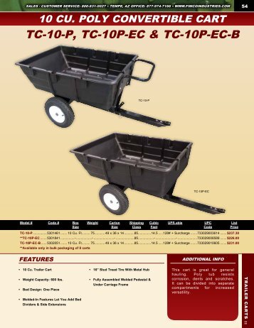 Trailer Carts - FIMCO Industries