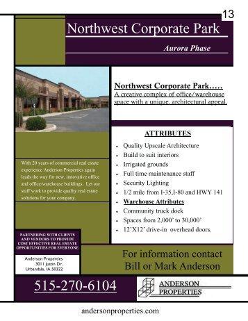 Properties 13-19 - City of Urbandale