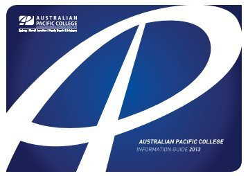Download Brochure - Australian Pacific College