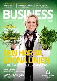 Business - den hårda gröna linjen