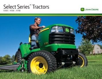 Select Series™ Tractors - Sitepro