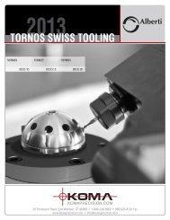 TORNOS SWISS TOOLING - Koma Precision, Inc.