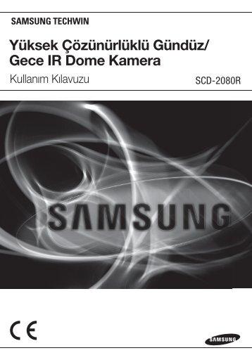 Yüksek Çözünürlüklü Gündüz/ Gece IR Dome Kamera - Samsung ...