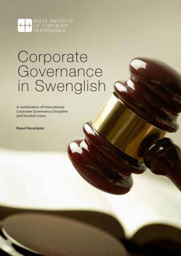 Corporate Governance in Swenglish [PDF] - Global Corporate ...