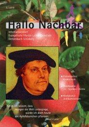Ein blühender Glaube - Luther(s)Rose - Evangelische Martin-Luther ...