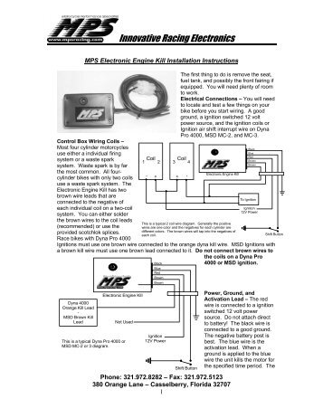 quick shifter mps racing K&R Wiring Diagram electronic engine kill mps racing