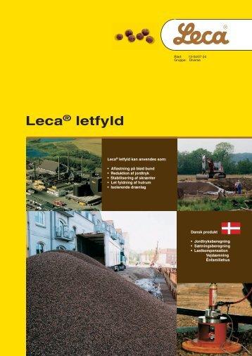 Leca® letfyld - Weber