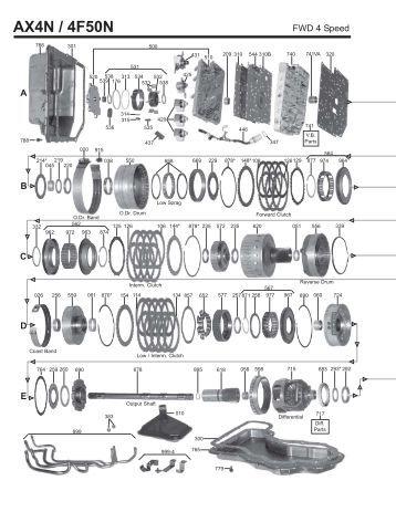 5r110w Valve Body Wiring Diagram 4R70W Valve Body Diagram