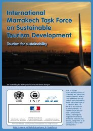 International Marrakech Task Force on Sustainable Tourism ...