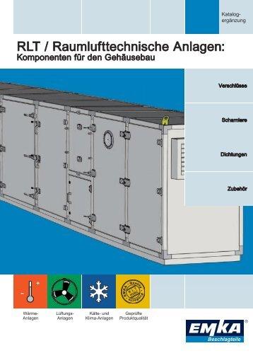 rlt / raumlufttechnische Anlagen: - EMKA Beschlagteile