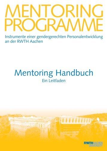 Mentoring Handbuch - Human Resources, Gender and Diversity ...