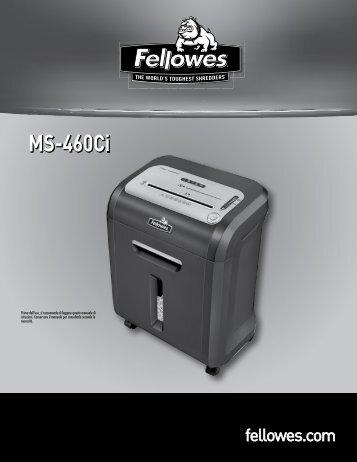 Manuale d'istruzioni MS-460Ci - Fellowes