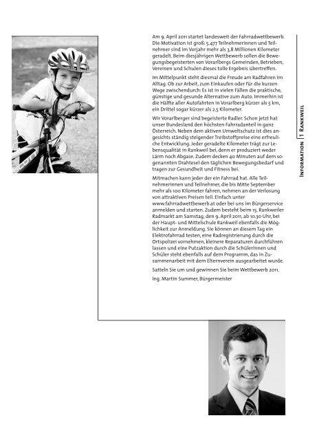 15. Rankler Radmarkt & Auftakt zum landesweiten Fahr Rad ...