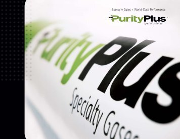 Display - PurityPlus Specialty Gases