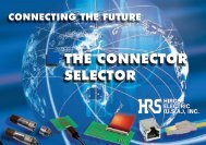 THE CONNECTOR SELECTOR - HIROSE USA