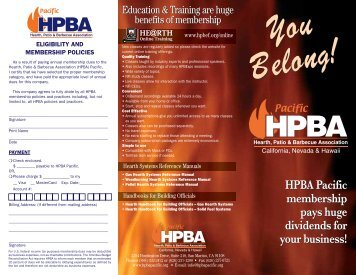 HPBA Pacific membership pays huge dividends for your business ...