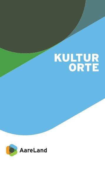 Kulturorte im AareLand (PDF)
