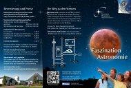 Allgemeines Prospekt (pdf) - Planetarium Laupheim