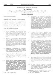 ROZPORZĄDZENIE KOMISJI (WE) NR 1091/2005 z dnia ... - EUR-Lex