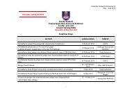 Kalendar Akademik Kump B Mac - Julai 2014