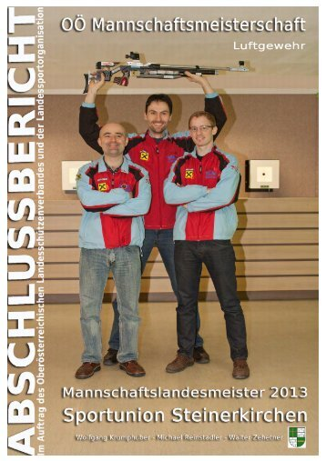 Deckblatt Endbericht 2013