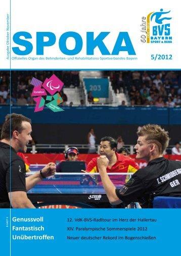 5/2012 - Behinderten- und Versehrten-Sportverband Bayern e.V.