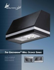 THE GREENBRIAR WALL SCONCE SERIES - LSI Industries Inc.