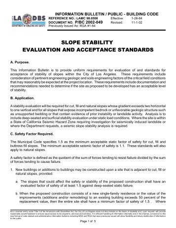 IB-P-BC 2002-049 Slope Stability Evaluation rev 11-1-02 - ladbs