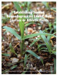 Establishing Seeded Bermudagrass on Lawns, Golf Courses or ...