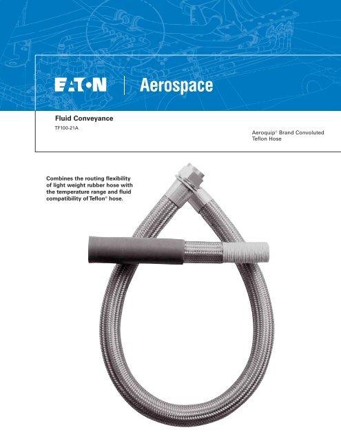 fluid conveyance herber aircraft hose assemblies swivel fl
