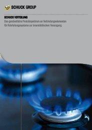 Produktspektrum Verteilung - Franz Schuck GmbH