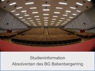 PDF-Download - BG Babenbergerring