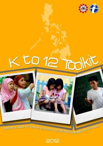 K to 12 Toolkit