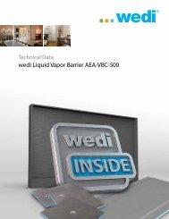 wedi Liquid Vapor Barrier AEA-VBC-500