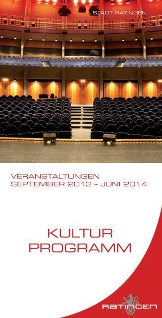 Kulturprogramm 2013/2014 - Stadt Ratingen