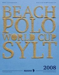 Beach Polo World Cup Sylt, Download - Polo+10 Das Polo-Magazin