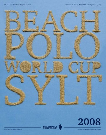 Beach Polo World Cup Sylt, Download - Polo+10 Das Polo-Magazin