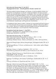 Internationaler Museumstag 12. Mai 2013 ... - Ostalbkreis