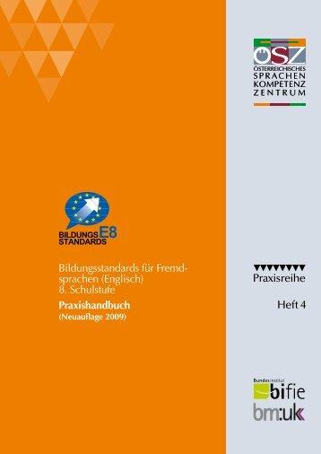 (Englisch) 8. Schulstufe Praxishandbuch - Österreichisches ...