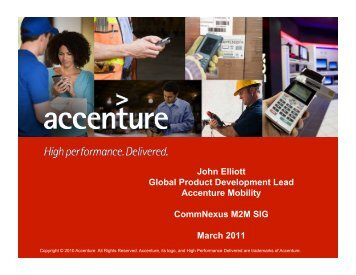 to View Accenture Presentation