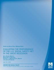Evaluating the Performance of the US Social Safety Net in The Great ...