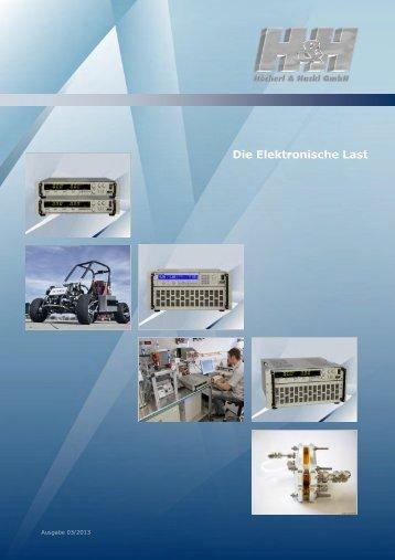 Die Elektronische Last - Elektronische Last Serie ZS