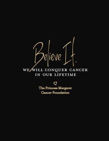 Personalized Cancer Medicine - The Princess Margaret Hospital ...