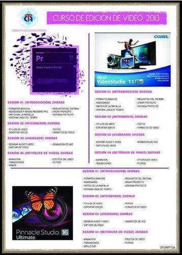 Cursos personalizados 2013