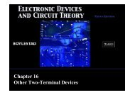Chapter 16 Other Two-Terminal Devices - Webstaff.kmutt.ac.th