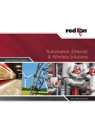 Automation, Ethernet & Wireless Solutions Catalog - Sixnet