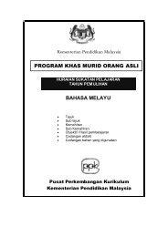 BAHASA MELAYU PROGRAM KHAS MURID ORANG ASLI