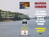 View/Print Marina Owners' Brochure