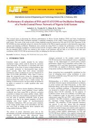 Performance Evaluation of PSS and STATCOM on Oscillation ...