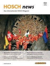 hosch news 01-07 - HOSCH International